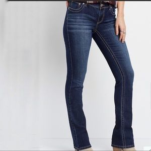 MAURICES/SLIM BOOT MID RISE JEANS/BLUE SIZE 16R